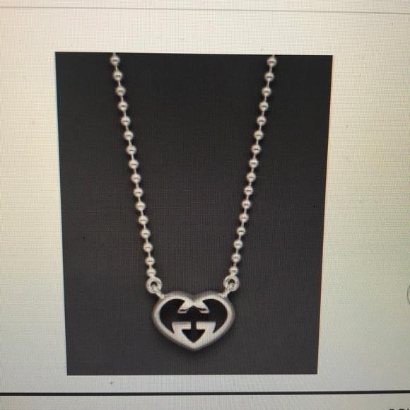 """4075a543c25 Gucci Jewelry - Gucci """"Love Britt"""" heart pendant necklace"""